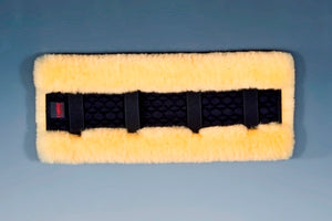 Sheepskin Driving Harness Pad. Horse Dream UK pad manufactured by Christ Lammfelle