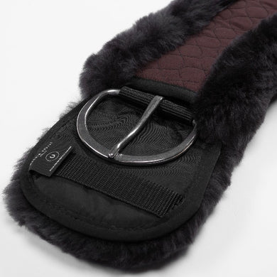 Horse Dream UK Sheepskin Western Cinch girth - Contour shaped for added comfort and fit. Manufactured by Christ Lammfelle