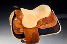 Load image into Gallery viewer, Christ Lammfelle Sheepskin Saddle Seat Saver for Western Saddles