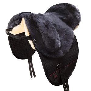 Horse Dream UK Sheepskin Bareback Riding Pad - Premium PLUS - Manufactured by Christ Lammfelle