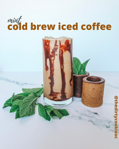 Minty Fresh, Cold Brew Iced Coffee