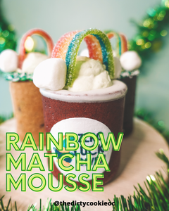 Rainbow Matcha Mousse