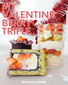 My Valentine Berry Trifle