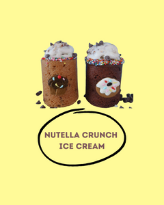 Nutella Crunch Ice Cream Recipe