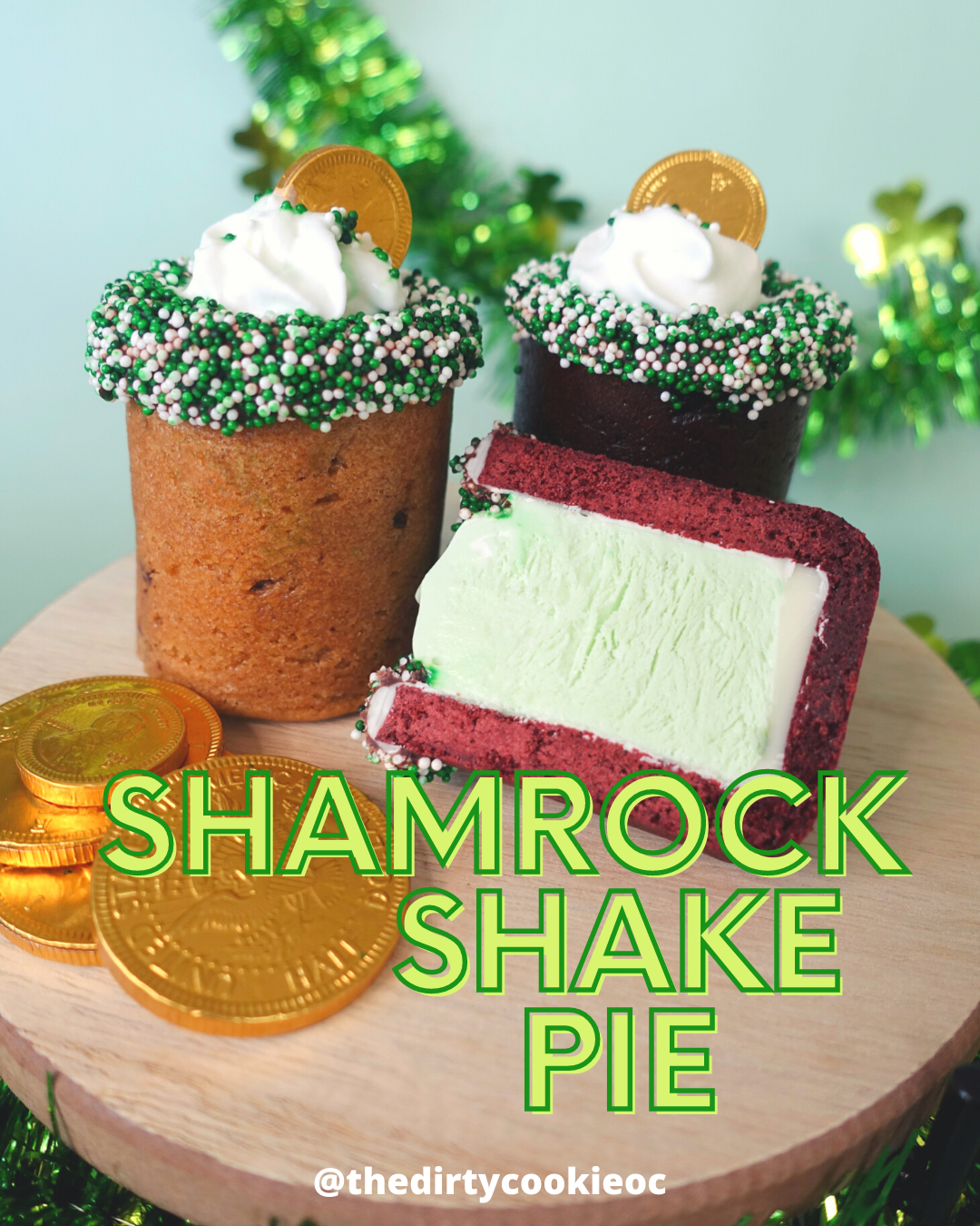 Shamrock Pi Day Pie