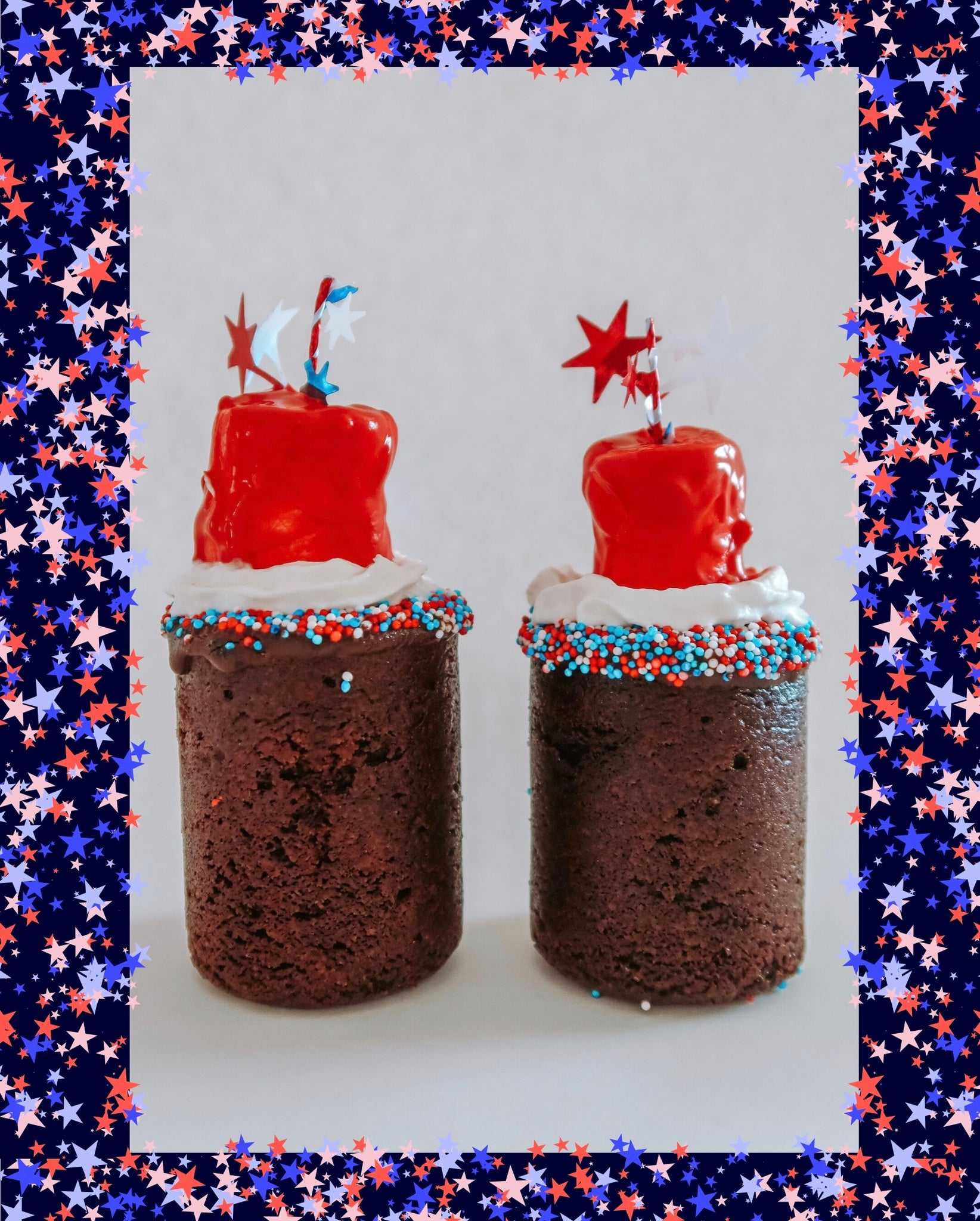 DIY Firecracker Cookie Shot