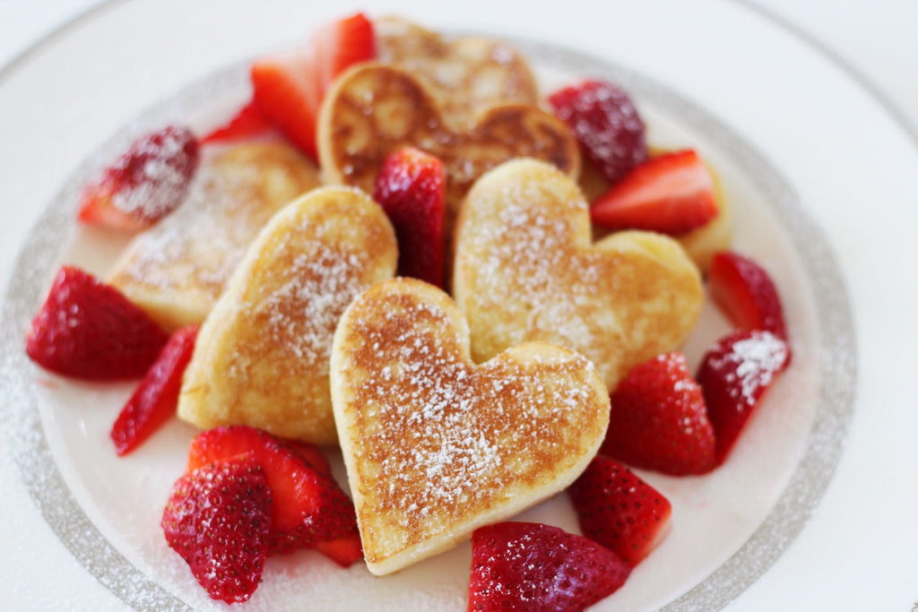 valentines day, pancakes, holiday pancakes, heart shaped pancakes, pancake reciepes