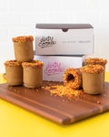 Dairy Free, Vegan, Pumpkin Spiced Cookie Shots by The Dirty Cookie