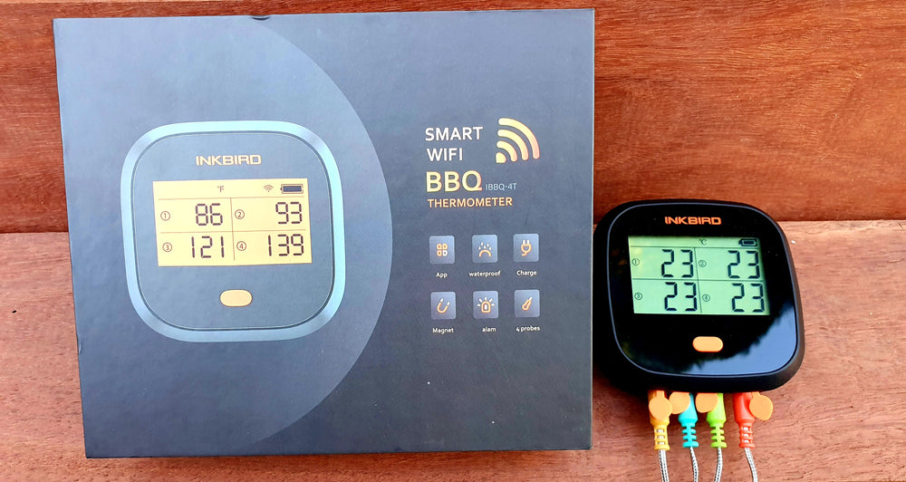 Load image into Gallery viewer, Inkbird IBBQ-4T WIFI 4 probe thermometer