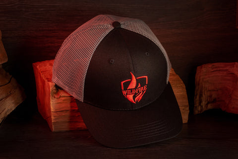 Wildfire pitmaster trucker Hats