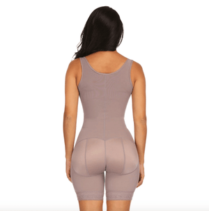 Long Leg Control Shapewear with Padded Buttocks