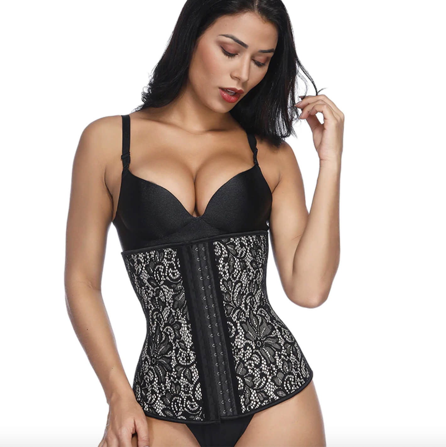 Corset Waist Trainer 4 Steel Bone