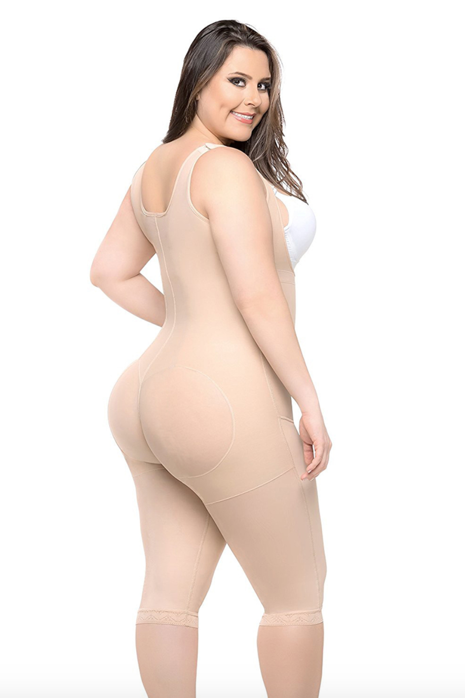 Compression Bodysuit Firmly Shape Long Leg Plus Size