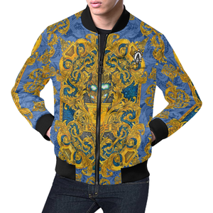 Scott Attomic Logo All Over Print Bomber Jacket for Men (Model H19)