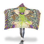 Alien Third Eye Opening Hooded Blanket