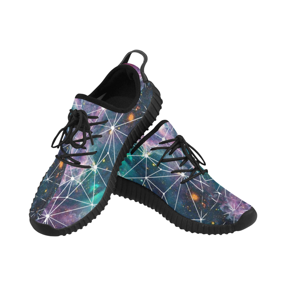 Scott Design Galaxy Pattern Unisex Shoes
