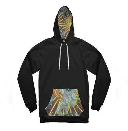Astronaut Star Light Mirage Contrast Unisex Hoodie