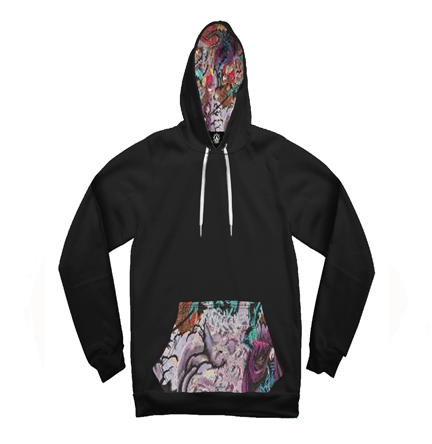 Anubis Egypt Take Over Contrast Unisex Hoodie