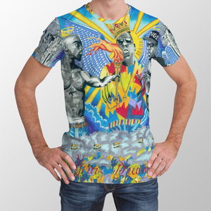 Rap Legends Unisex All Over Print T-Shirt