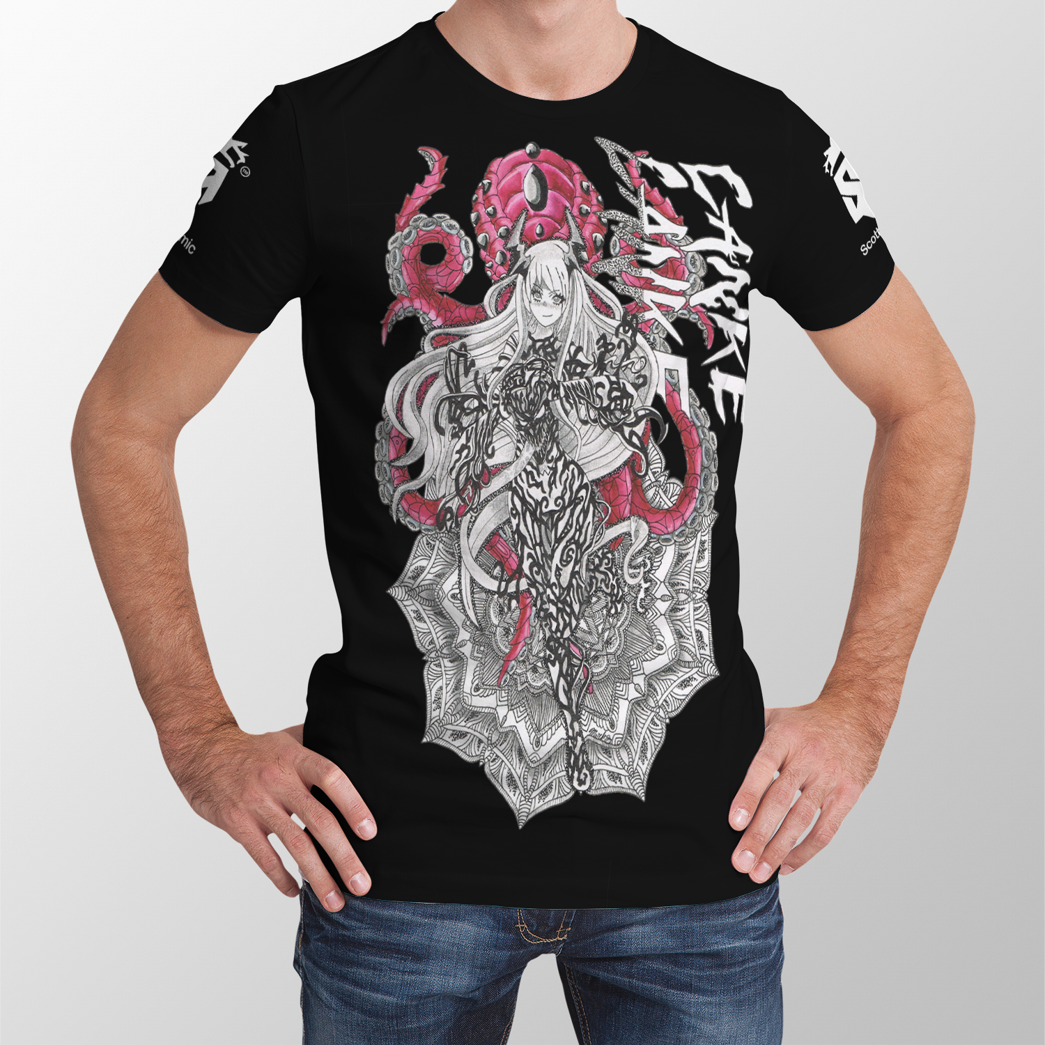 Lanke Venom Anime All Over Print Unisex Shirt