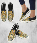 Olympian Mythology Canvas All Over Print Shoes