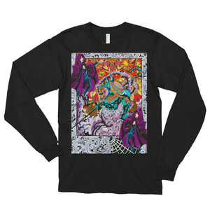 Anubis Egypt Take Over Long Sleeve T-shirt (Unisex)
