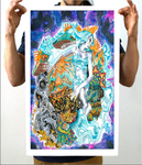 Alien Creativity Tiger Artwork Print