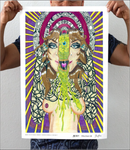 Alien Third Eye Opening Artwork Print