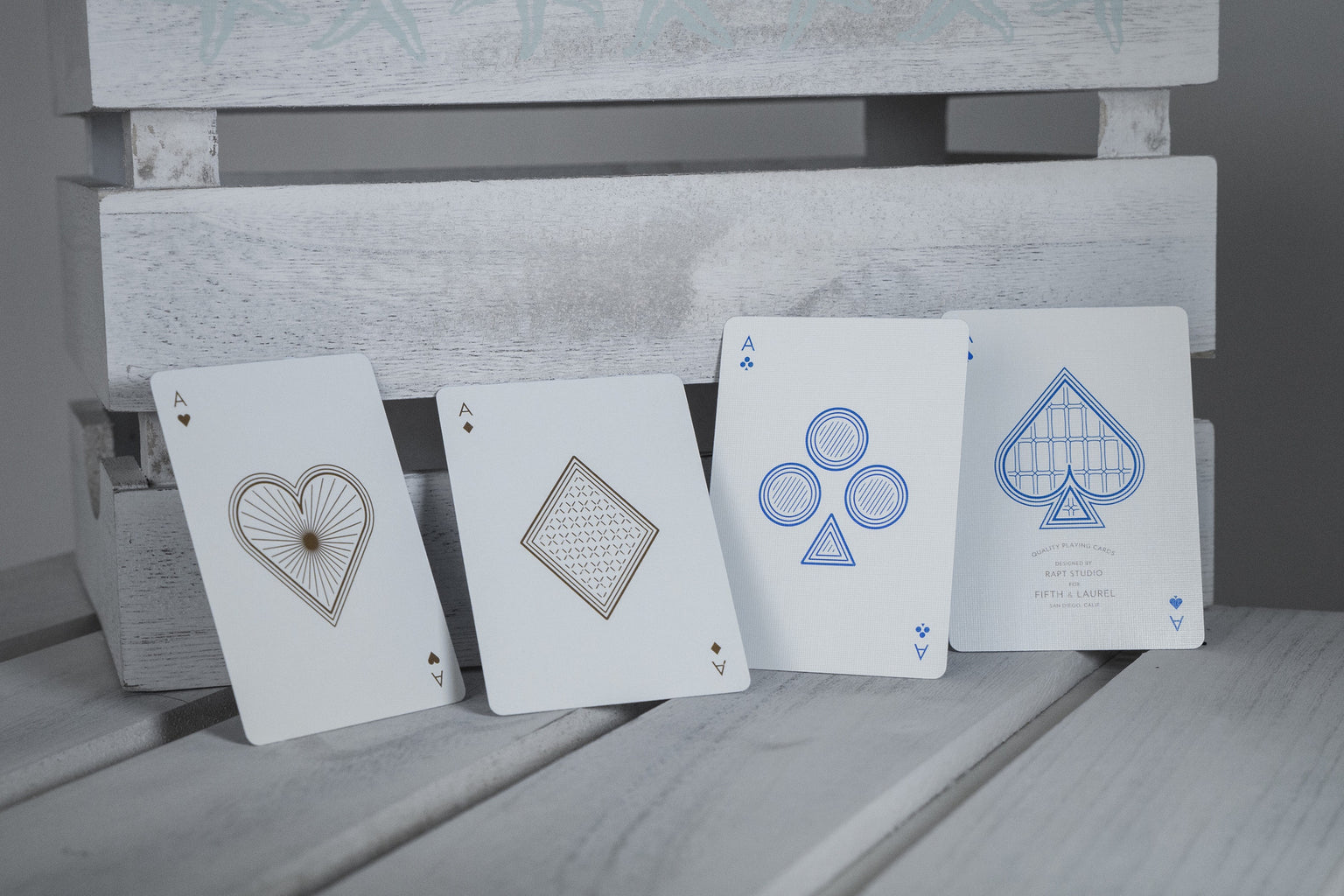 Optical Illusion Limited Edition Funky Cardistry Deck VIEWS Playing Cards
