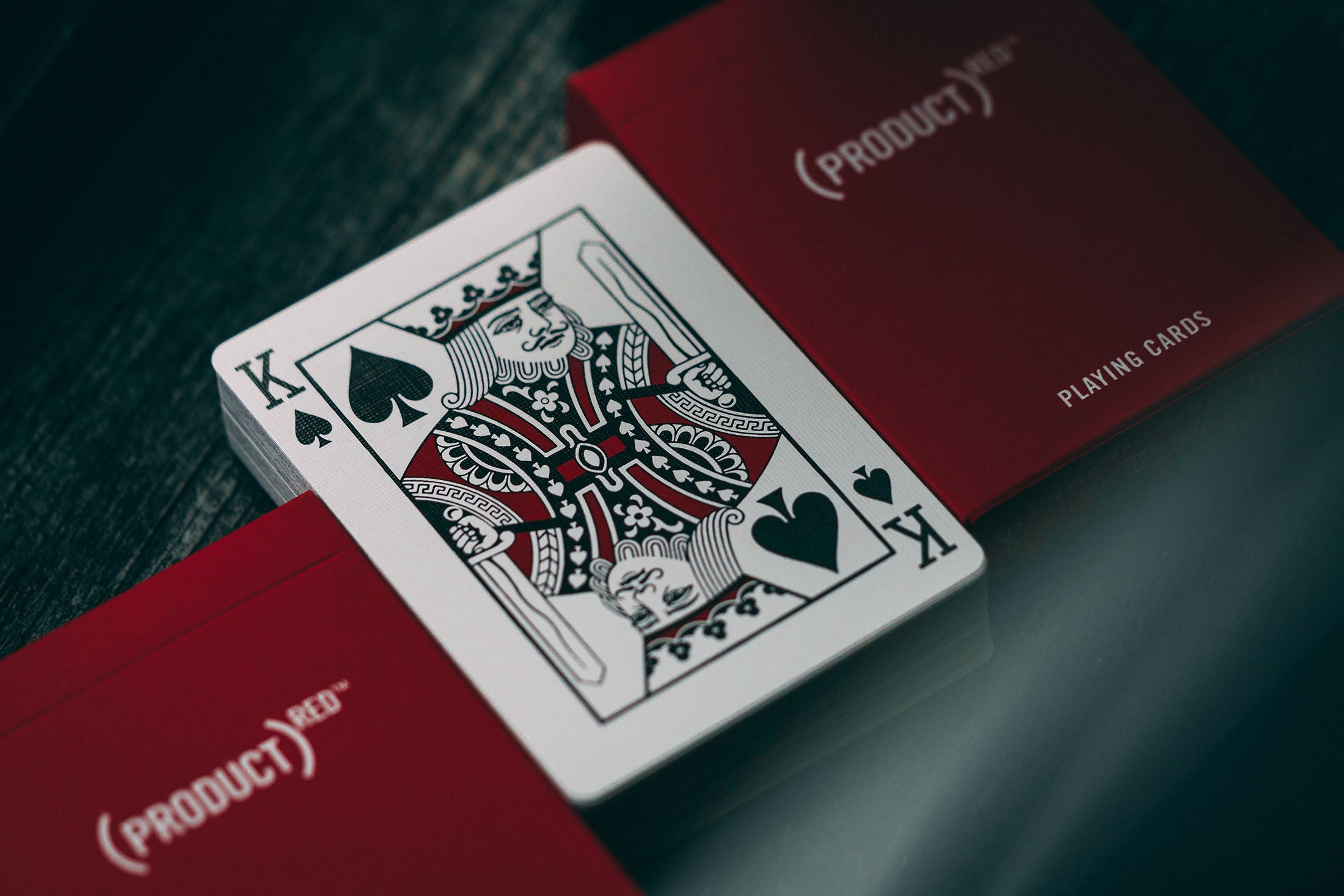 Product Red Playing Cards Theory11