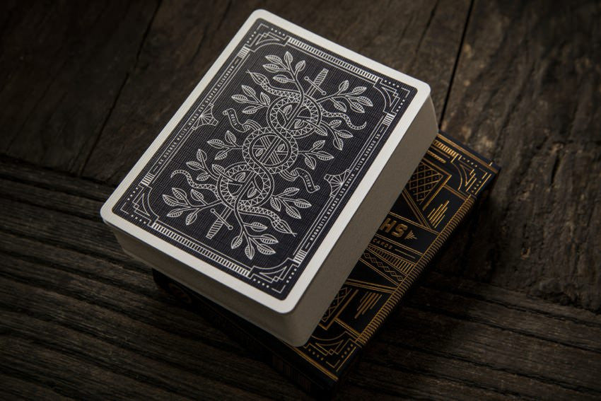 Carte Tycoon Black by Theory11