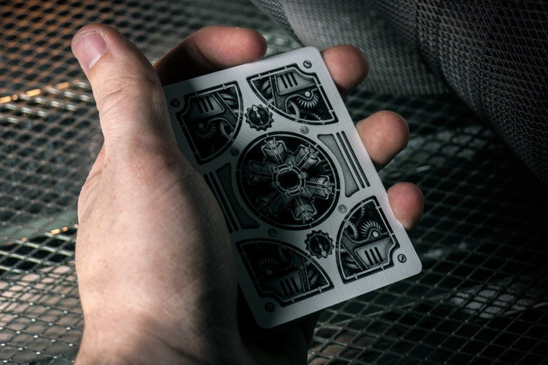 Steampunk Playing Card Back