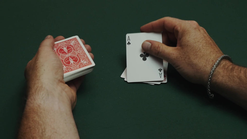 Deal from the bottom of deck