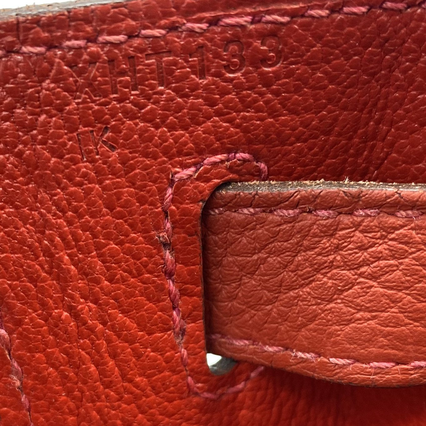 Géranuim Togo Leather Kelly 28