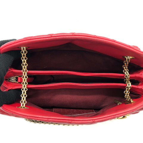 Just Mademoiselle Bowling Leather Shoulder Bag