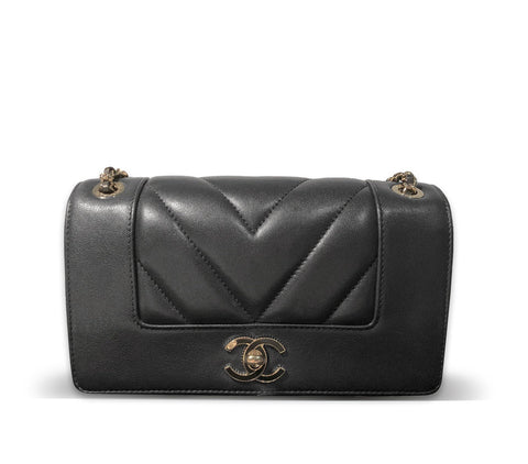 Chanel Small Mademoiselle Vintage Flap Bag