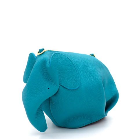 Elephant cross-body bag Tiffany Blue