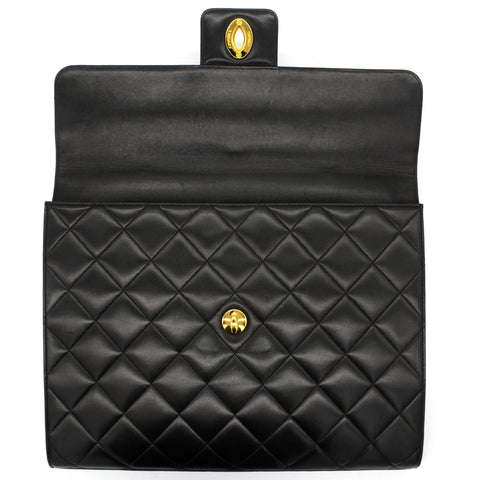 1995 diamond quilted briefcase