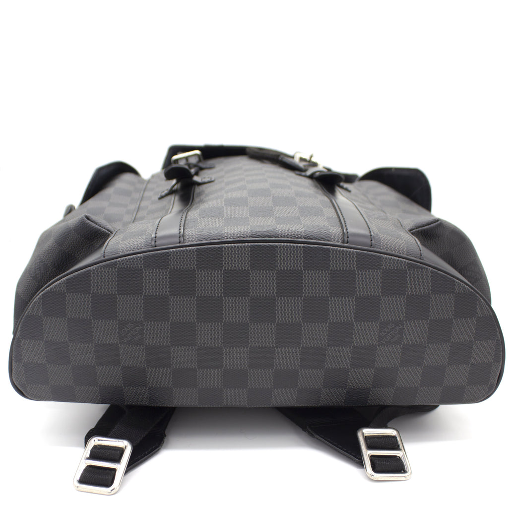 Christopher Backpack in Damier Graphite Canvas