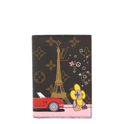 Multicolor Vivienne Christmas 2019 Xmas Paris Passport Cover