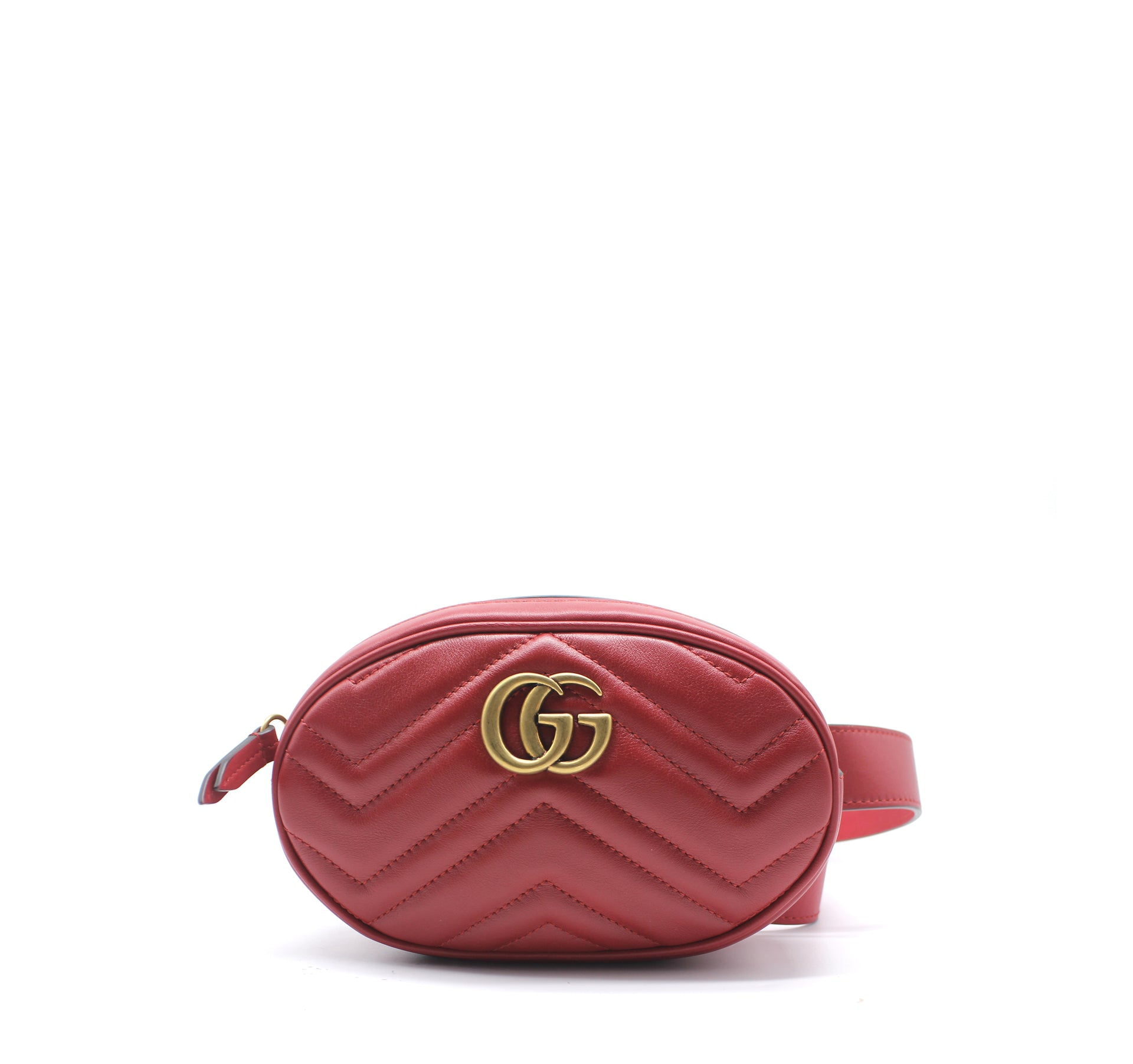 77485663b679 Gucci GG Marmont matelassé leather belt bag – STYLISHTOP