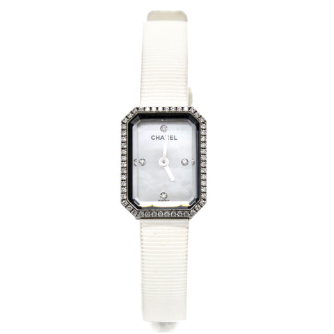 H2433 Premiere 4P Diamond Watch Stainless Steel Rubber Ladies