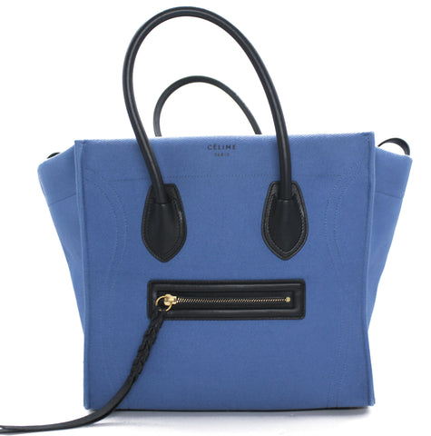 Celine Medium Luggage Phatom Bag in Canvas