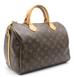 Louis Vuitton Monogram Speedy Bandouliére 30