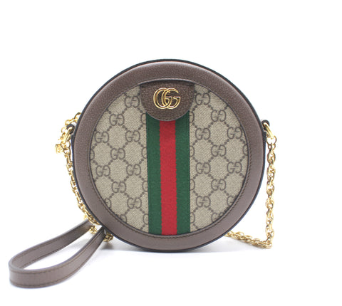 Gucci Ophidia GG round shoulder bag