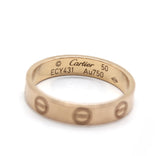Cartier Love Wedding Band Pink Gold