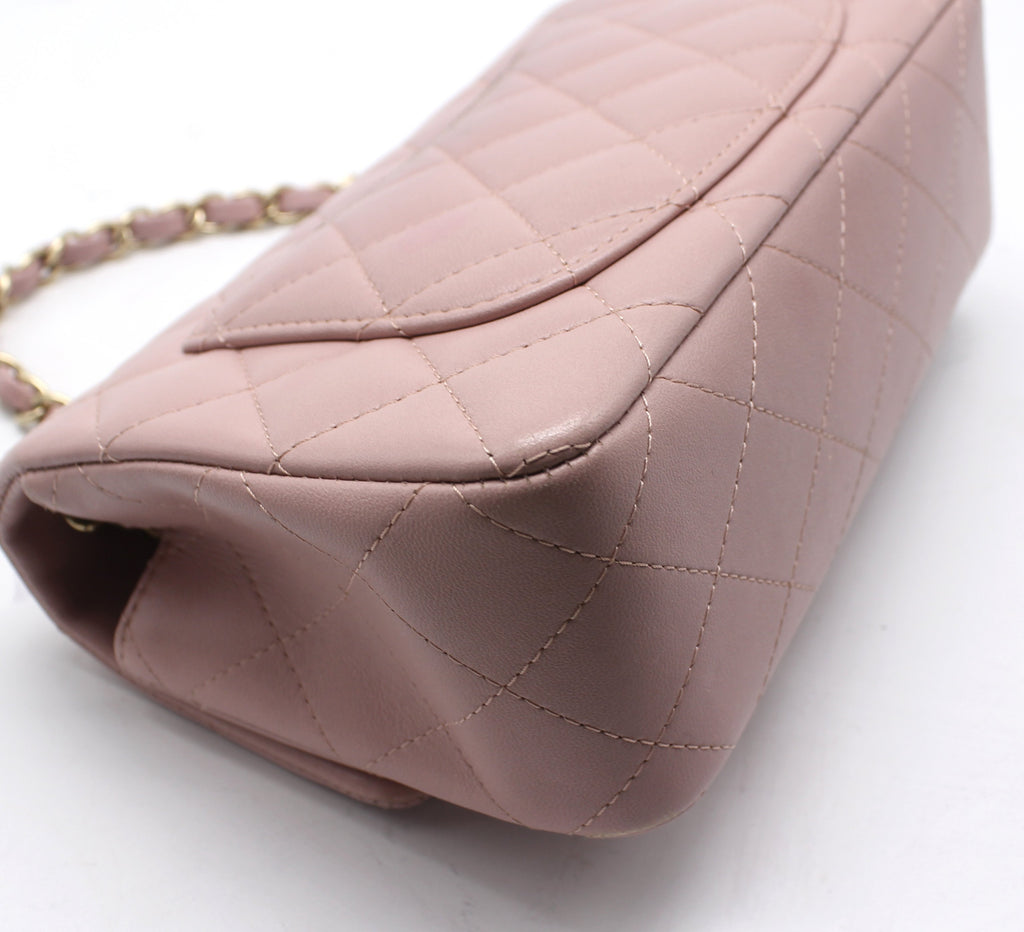 Chanel Classic Flap Mini Lambskin Pink