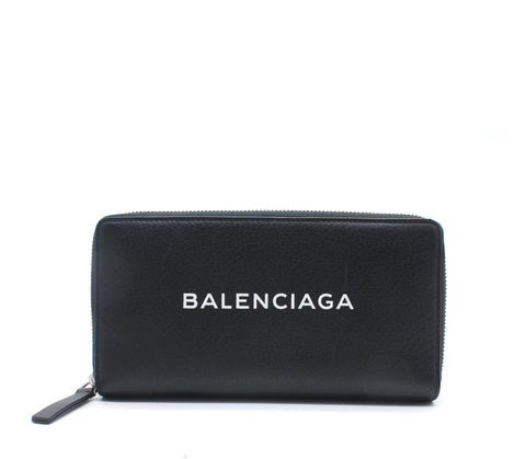 Everyday Large Continental Leather Logo Wallet