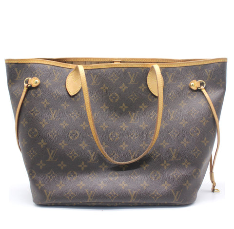 Louis Vuitton Neverfull MM Monogram Shoulder Bag