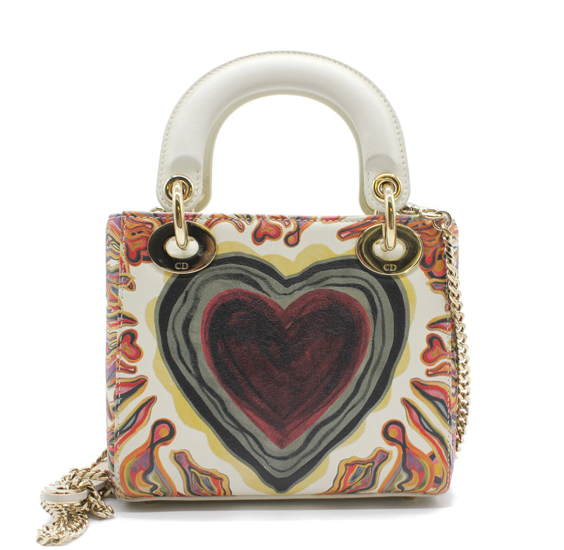 Christian Dior Lady Dior Bag in Printed Calfskin